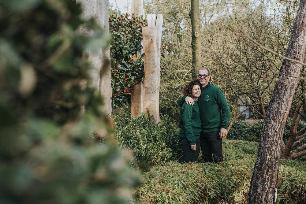Tom Degroote en Caroline Comyn - Degrootebloemen.be