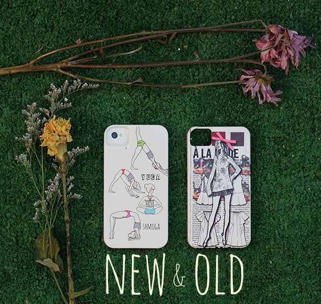 new and old iphone covers