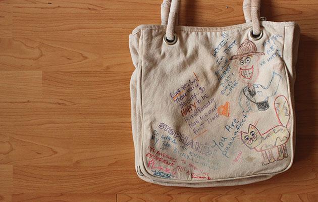 BM bag back