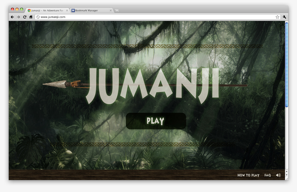 Digital Jumanji is a board game that can be played on a web browser on the computer with up to 4 synced devices.