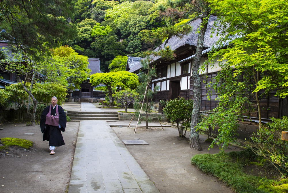 Enkaku Temple_ Kamakura Japan