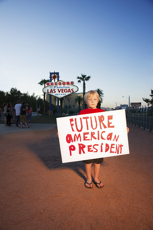 Chase in Las Vegas for Future American President