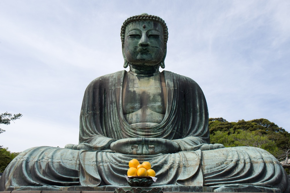 Lighting condition: Hazy day - Buddha photographed at ISO 400 with Nikon D4s