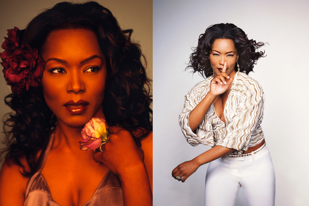 Angela Bassett by Matthew Jordan Smith