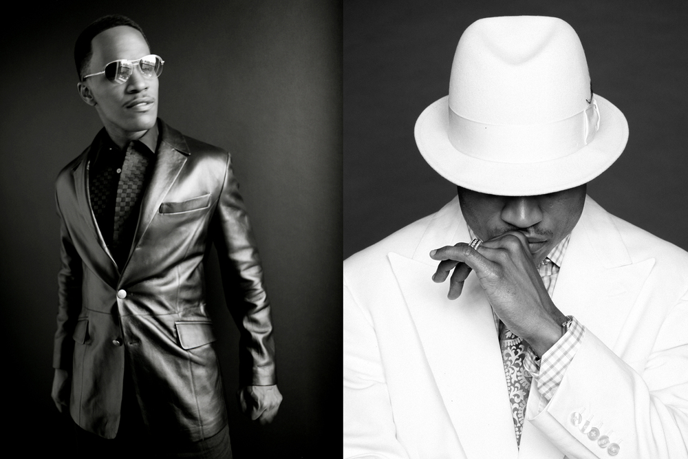 Jaime Foxx and LL Cool J by Matthew Jordan Smith