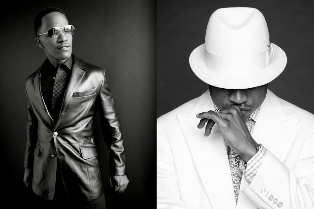 Jaime Foxx and LL Cool J by Matthew Jordan Smith