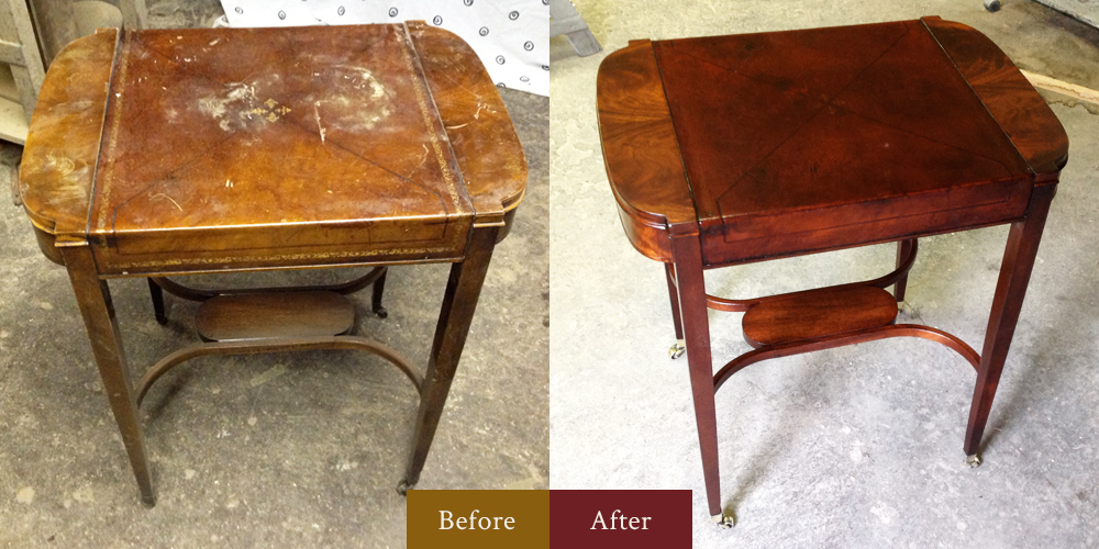 Gallery classic furniture restoration services for Classic furniture restoration