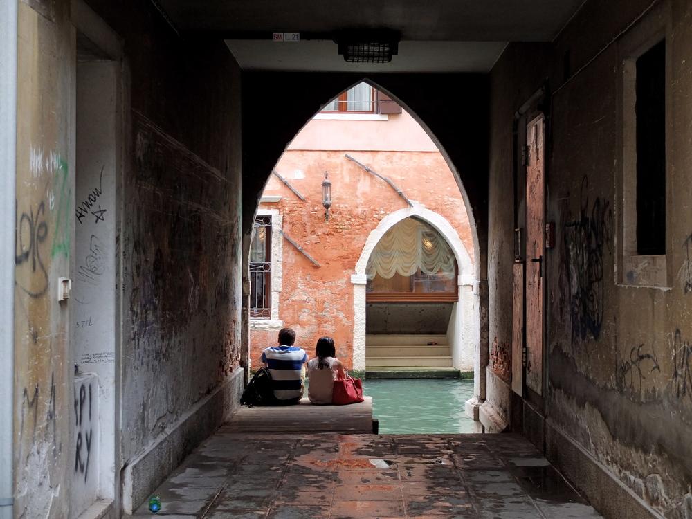 A Break  Venice, Italy  7/2014