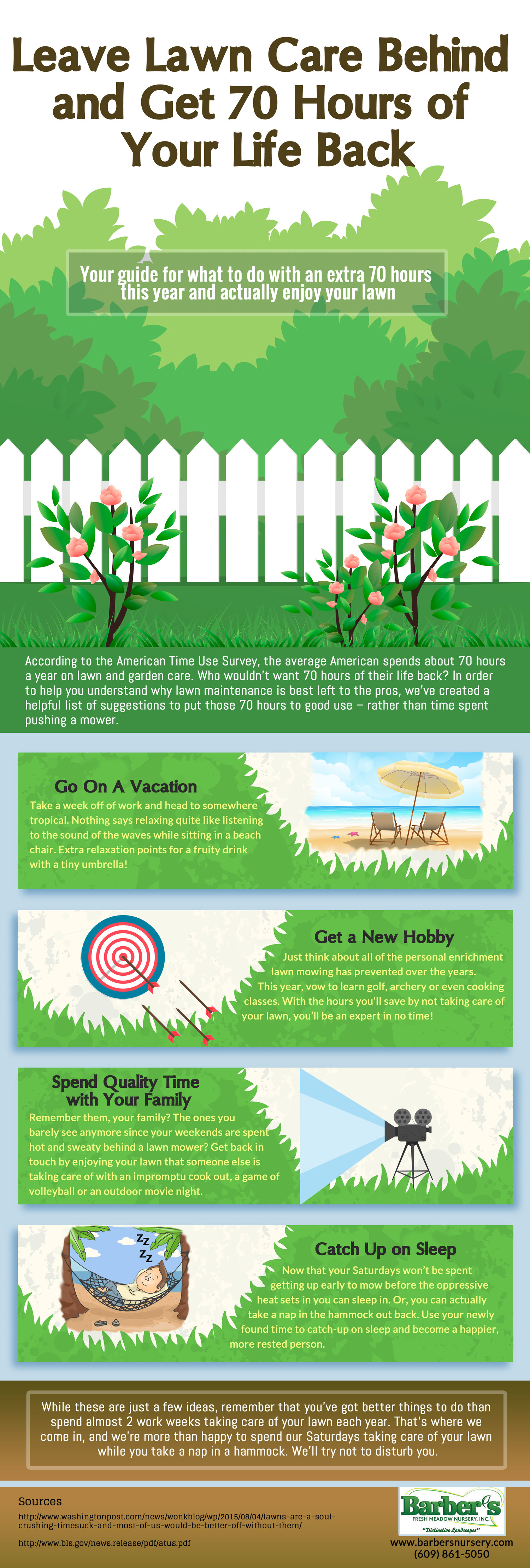 INFOGRAPHIC: Reasons to Leave Your Lawn Maintenance to the