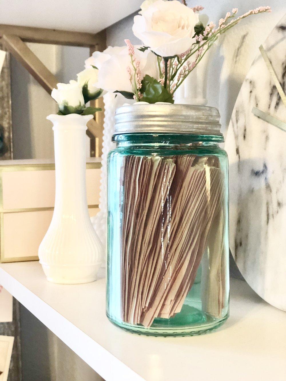 Affirmation Jar