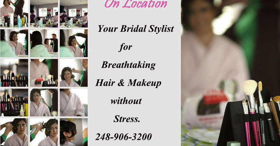 Location Bridal Hair and Makeup Services
