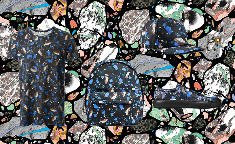 digital geology // cultureisland 2014 // acne studios mens fall 2014 x seamless pattern design by bethan laura wood 2010
