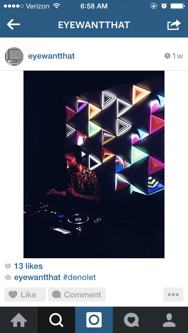 instagram by brandon michaels // concept + brand designer
