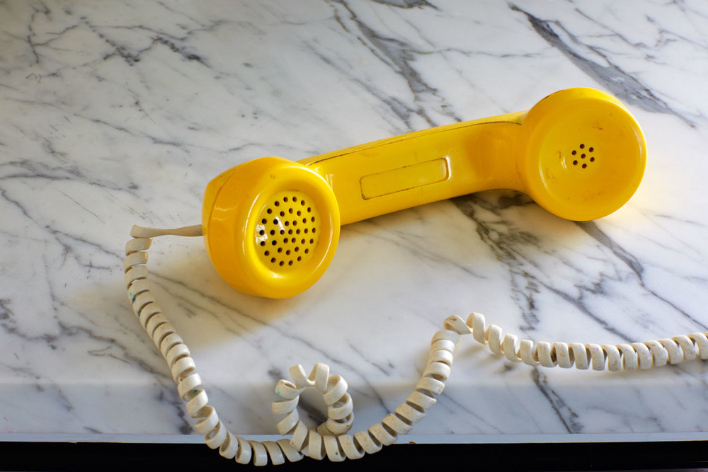 roe ethridge // yellow phone // 2013