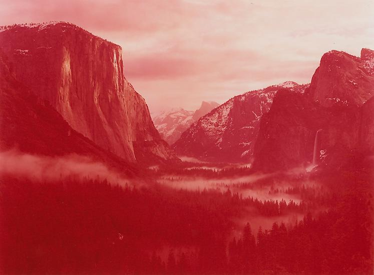 david benjamin sherry // winter sunrise over yosemite valley, yosemite, california // 2013