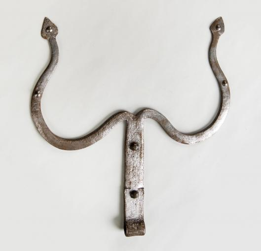 door hinge // 18th - 19th century // united states, pennsylvania iron