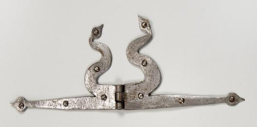 door hinge // 18th century // united states // iron