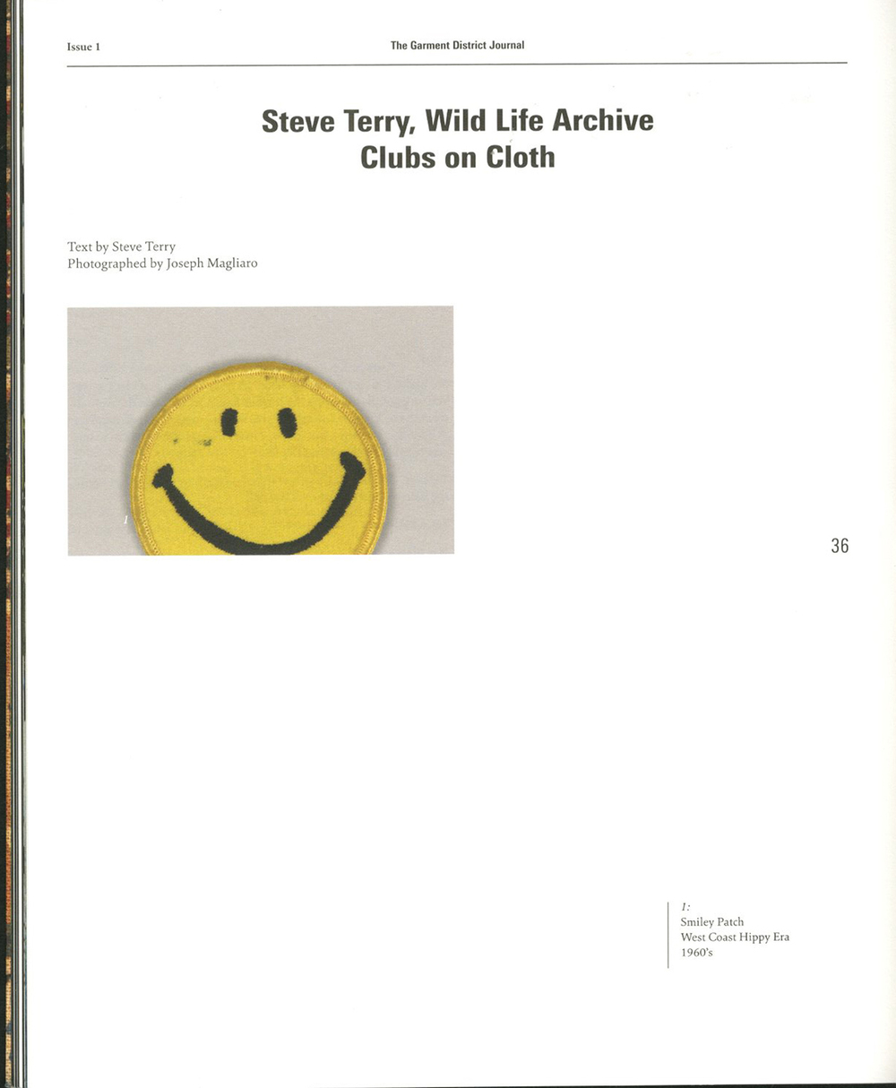 1 steve terry, wild life arcive clubs on cloth.jpg
