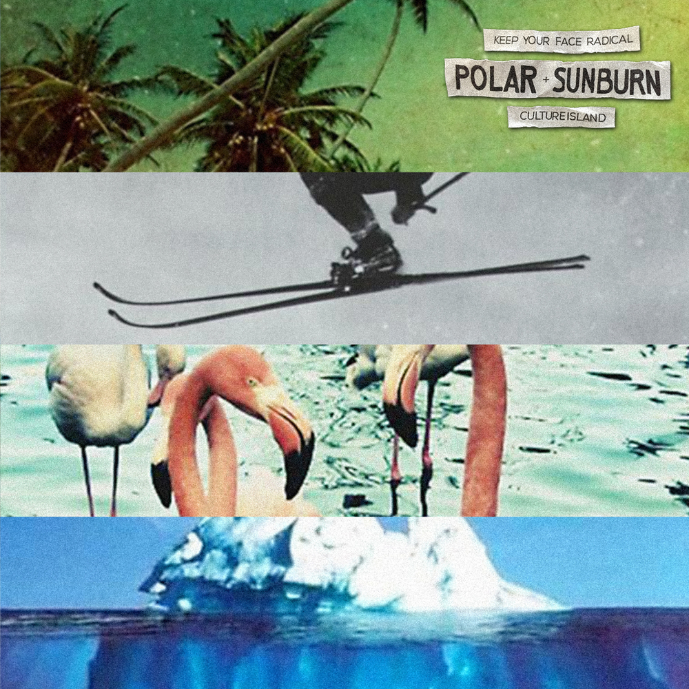 tyson schenk // keep your face radical // polar sunburn mix