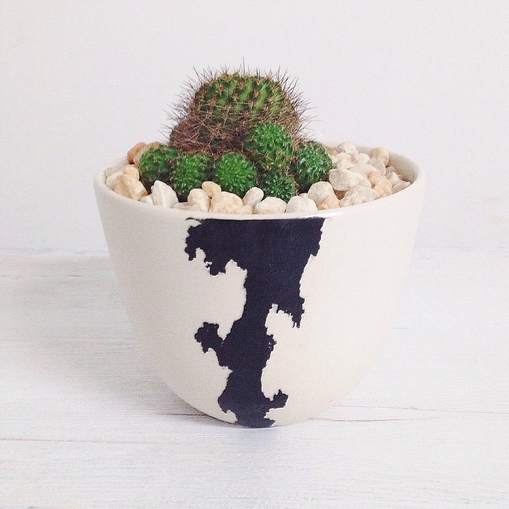 btw ceramics // crater planter