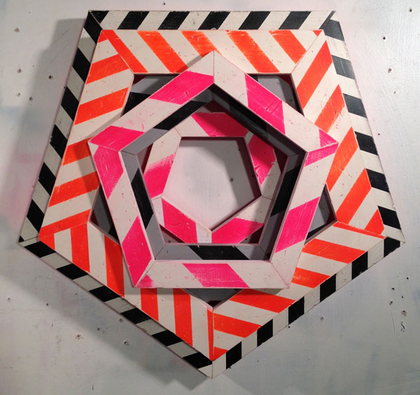 """damion silver // hex // 2014 // 30"""" x 30"""""""