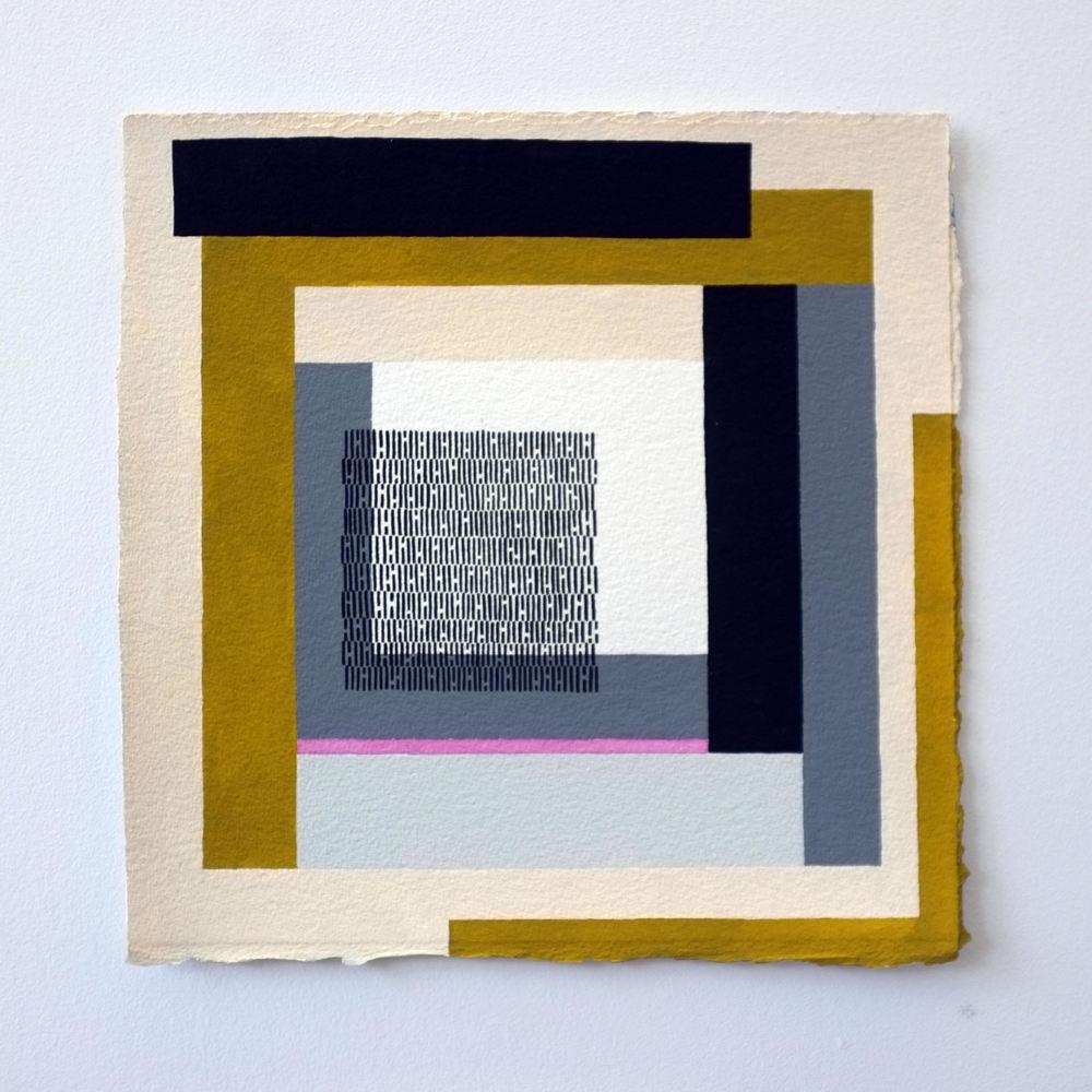 """jason turner // void // gauche on paper//11"""" x 11"""""""