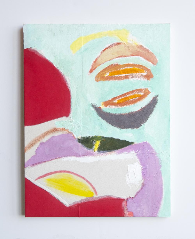 "naomi clark // three moons away // oil on canvas // 19"" x 24""// 2015"