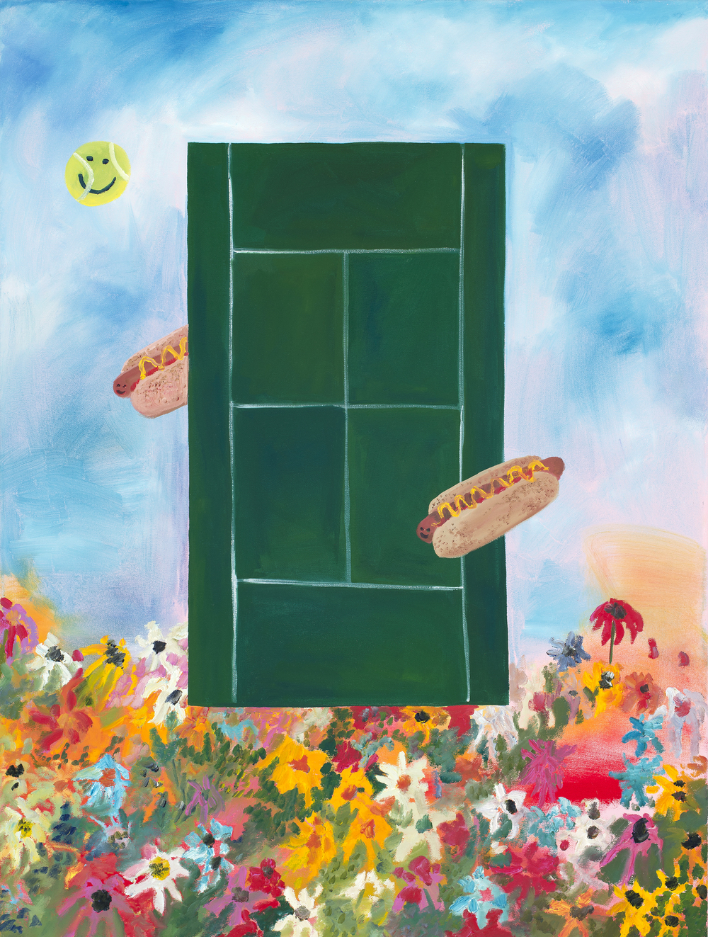Sarah Osborne_If I Played Tennis I would eat Hot Dogs at the Same Time.jpg