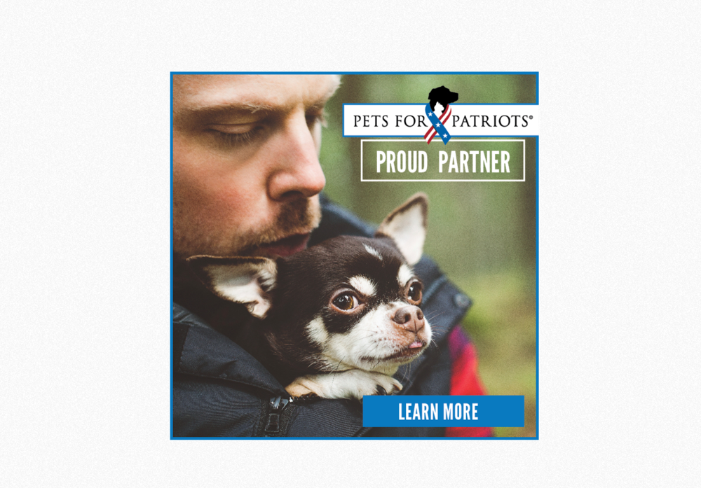 Pets for PatriotsPartner Badges - Art Direction, Graphic Design