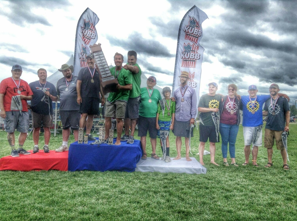 Bronze Medalists at the 2016 US National Kubb Championship