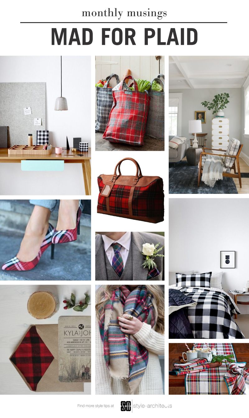 SA Monthly Musing Mad for Plaid
