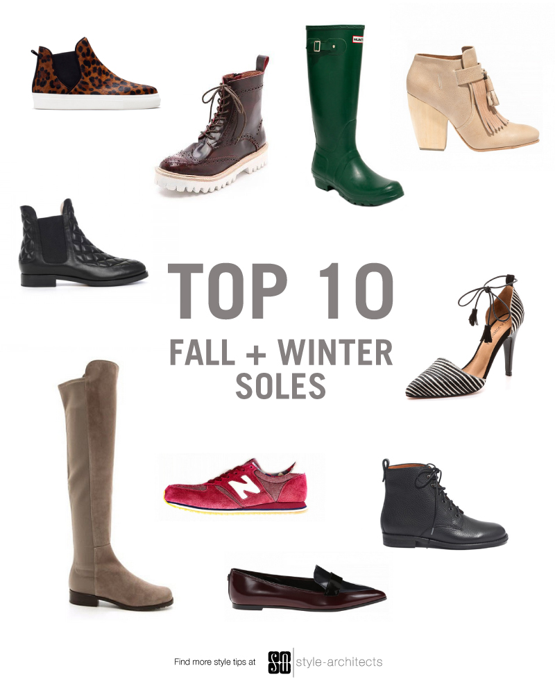 Style-Architects Top 10 Winter Soles