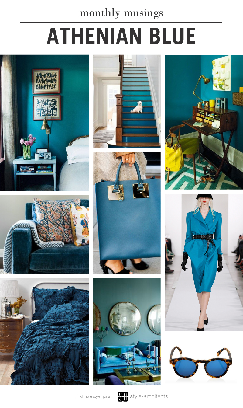 Style-Architects Monthly Musing: Athenian Blue