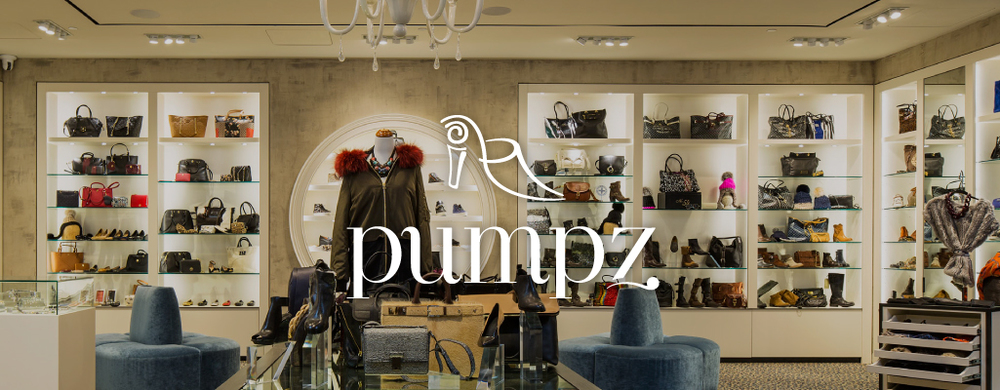 Pumpz Shoe Store - marketing by Style-Architects