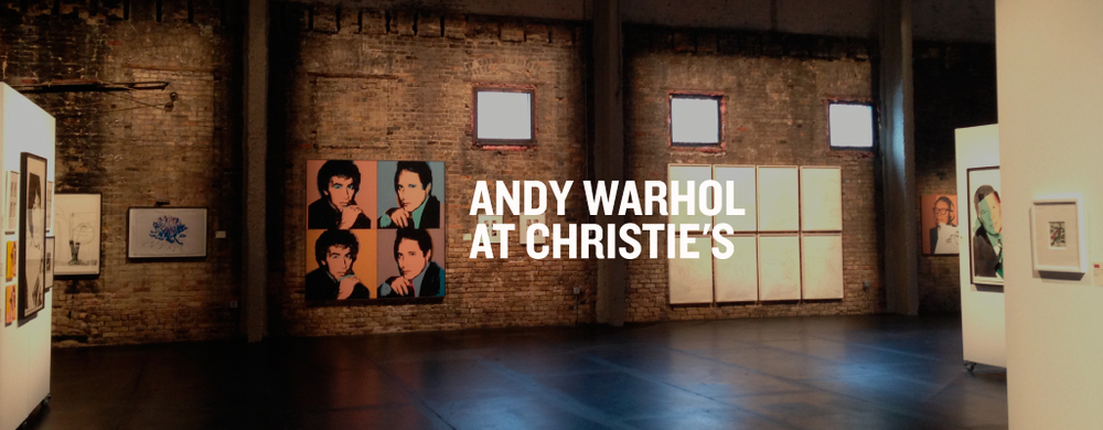 Andy Warhol at Christie's - PR by Style-Architects