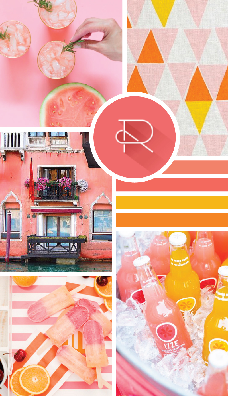 Summer Pinks Moodboard // Style-Architects