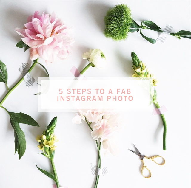5 Steps to a fab Instagram Photo  //  Style-Architects