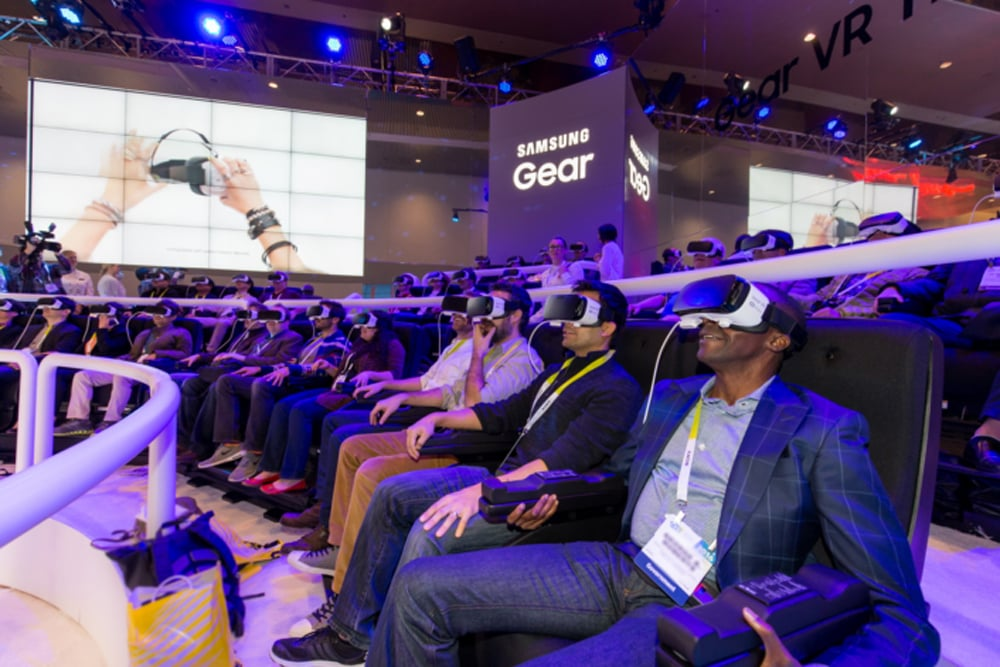 Samsung's VR theater