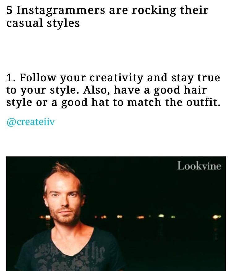 Oli's Got Style!