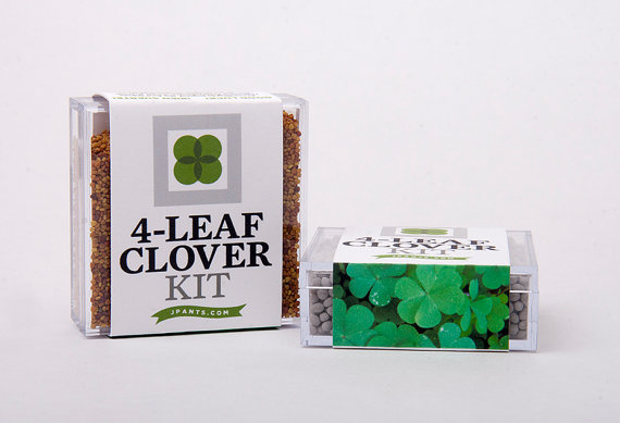 "If you're a Quest Scouts member for October, your Scout Pack will contain a smaller version of the ""Four Leaf Clover Kit"" pictured above. Inside will be your Dutch White Clover seeds- you'll need to supply their home."