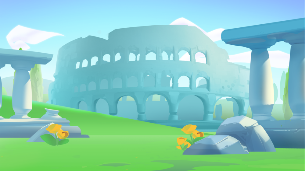 Background Illustration- Yahoo! Bingo