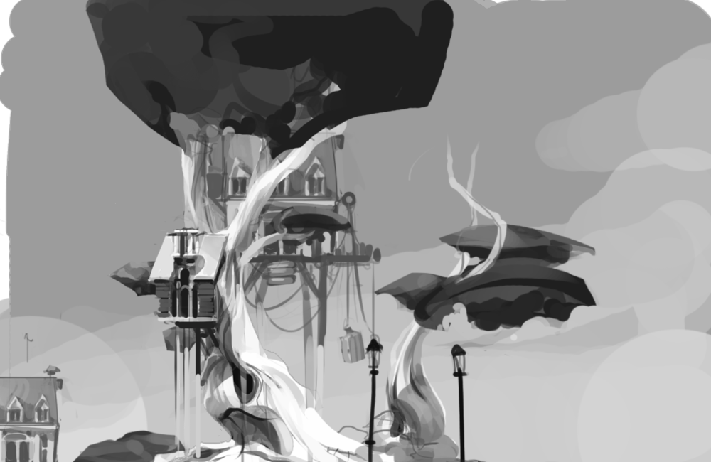 Environment Concepts - Giant Realms
