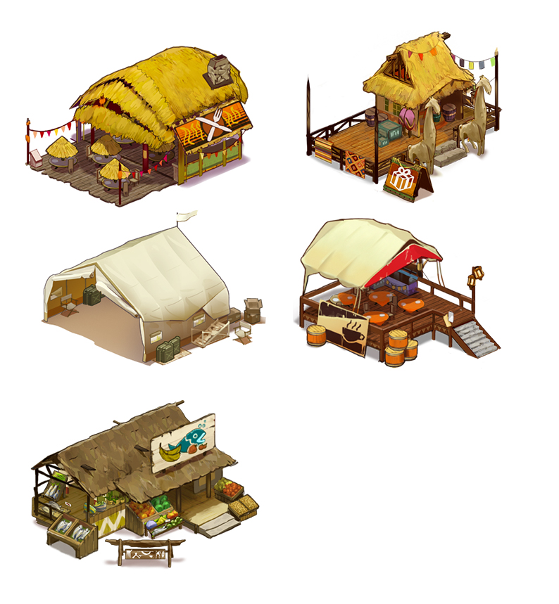 Building Designs - Safari Zoo