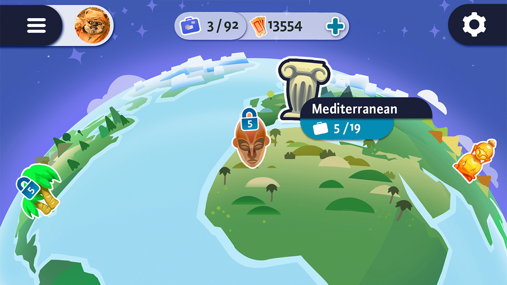 Interface matthew arnone the world map was particularly unique employing a rotating 3d earth for selecting game locations all design icons layout and illustration assets were my gumiabroncs Gallery