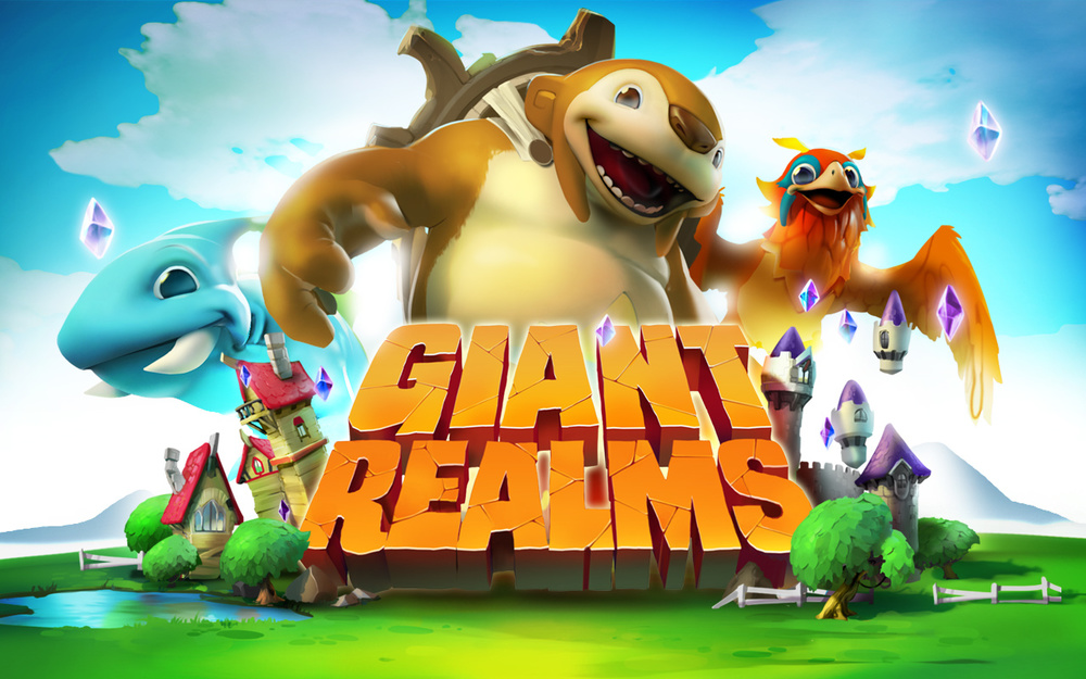 Splash Screen Illustration - Giant Realms
