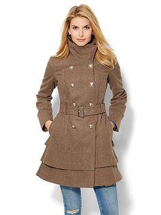 New York & Co .| Wool Blend Coat | $59 ($159 org)