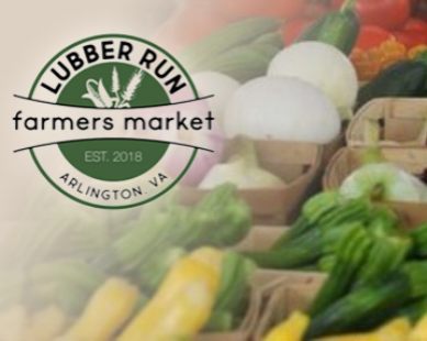 Lubber Run Farmer's Market (Saturdays)      8:00am-12:00pm     April-Nov            4401 N. Henderson Rd, Arlington, VA 22203    Location : At the corner of N. George Mason Drive and N.Henderson Road in Arlington.   Parking : Free parking is available for general use in the Barrett Elementary School parking lot.