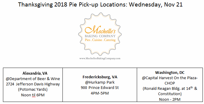 THANKSGIVING 2018 Pie Pickup Schedule.PNG