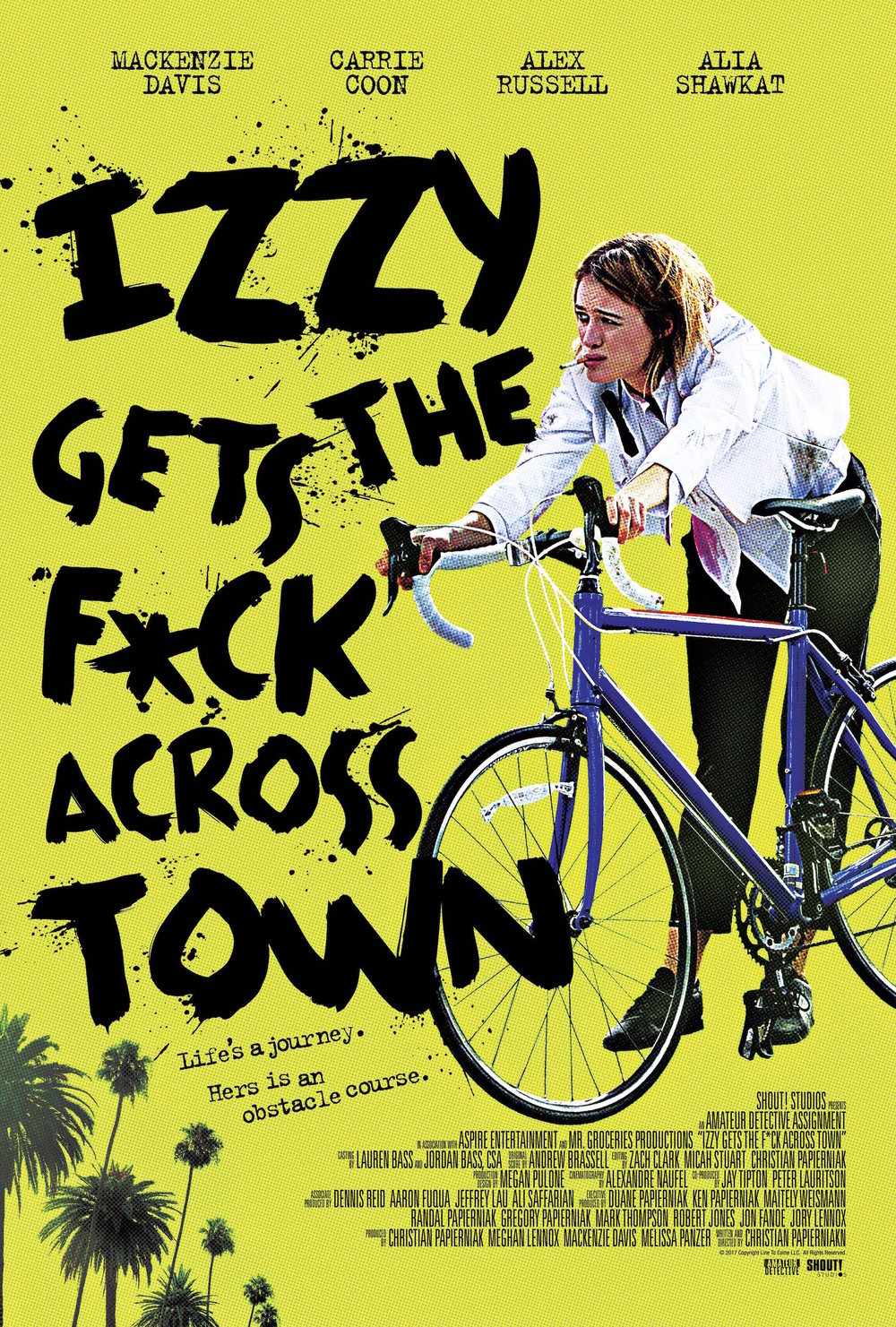 IZZY GETS THE F* ACROSS TOWN