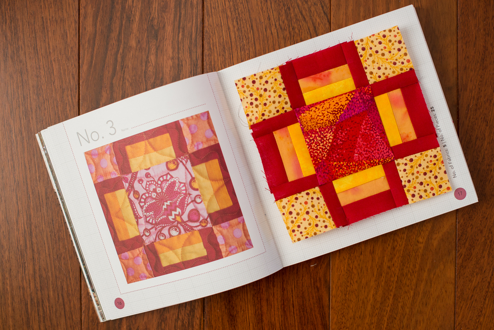 Block No 3 : Bold, Graphic, and Bright